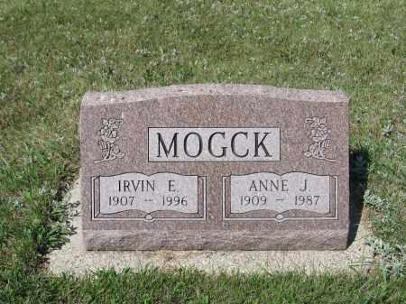 CARLSON MOGCK 338, ANNE JENSINE - LaMoure County, North Dakota | ANNE JENSINE CARLSON MOGCK 338 - North Dakota Gravestone Photos