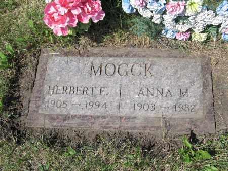 MOGCK 355, HERBERT EDWIN - LaMoure County, North Dakota | HERBERT EDWIN MOGCK 355 - North Dakota Gravestone Photos