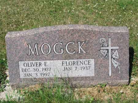 MOGCK 356, OLIVER EARL - LaMoure County, North Dakota | OLIVER EARL MOGCK 356 - North Dakota Gravestone Photos