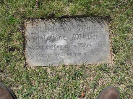 MUELLER 109, WILHELMINA - LaMoure County, North Dakota   WILHELMINA MUELLER 109 - North Dakota Gravestone Photos