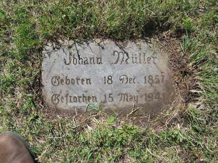 MUELLER 110, JOHANN SR. - LaMoure County, North Dakota | JOHANN SR. MUELLER 110 - North Dakota Gravestone Photos