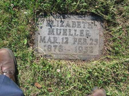MUELLER 188, ELIZABETH - LaMoure County, North Dakota | ELIZABETH MUELLER 188 - North Dakota Gravestone Photos