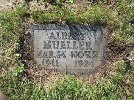 MUELLER 189, ALBERT A. - LaMoure County, North Dakota | ALBERT A. MUELLER 189 - North Dakota Gravestone Photos