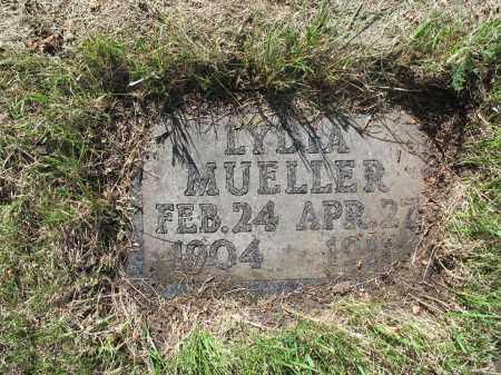 MUELLER 190, LYDIA - LaMoure County, North Dakota | LYDIA MUELLER 190 - North Dakota Gravestone Photos