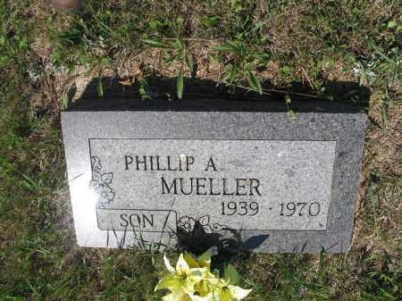 MUELLER 289, PHILLIP A. - LaMoure County, North Dakota | PHILLIP A. MUELLER 289 - North Dakota Gravestone Photos