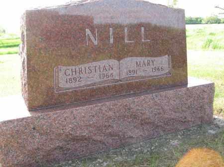 NILL 067, MARY - LaMoure County, North Dakota   MARY NILL 067 - North Dakota Gravestone Photos