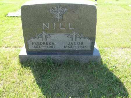 NILL 097, FREDREKA - LaMoure County, North Dakota | FREDREKA NILL 097 - North Dakota Gravestone Photos