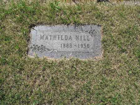 NILL 098, MATHILDA - LaMoure County, North Dakota | MATHILDA NILL 098 - North Dakota Gravestone Photos