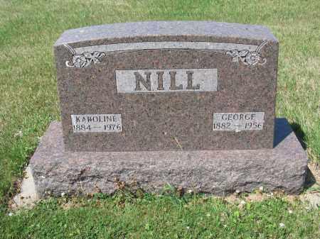 NILL 371, GEORGE - LaMoure County, North Dakota | GEORGE NILL 371 - North Dakota Gravestone Photos
