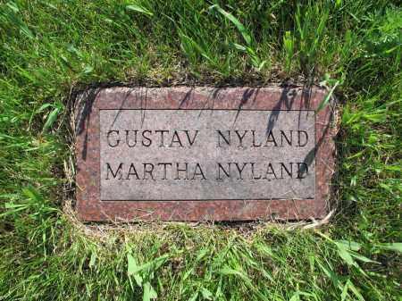 NYLAND 033, MARTHA - LaMoure County, North Dakota | MARTHA NYLAND 033 - North Dakota Gravestone Photos