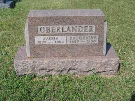 OBERLANDER 229, KATHERINE - LaMoure County, North Dakota | KATHERINE OBERLANDER 229 - North Dakota Gravestone Photos
