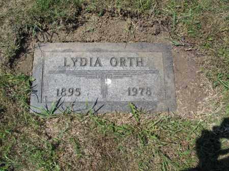 ORTH 519, LYDIA - LaMoure County, North Dakota | LYDIA ORTH 519 - North Dakota Gravestone Photos
