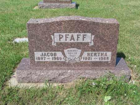 PFAFF 254, JACOB - LaMoure County, North Dakota | JACOB PFAFF 254 - North Dakota Gravestone Photos