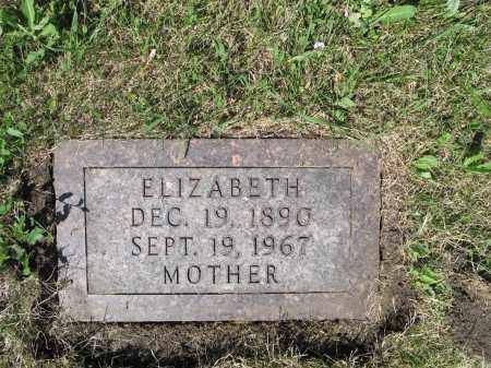 PFEIFER 421, ELIZABETH - LaMoure County, North Dakota   ELIZABETH PFEIFER 421 - North Dakota Gravestone Photos