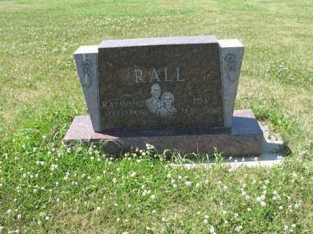 RALL 592, IDA - LaMoure County, North Dakota | IDA RALL 592 - North Dakota Gravestone Photos
