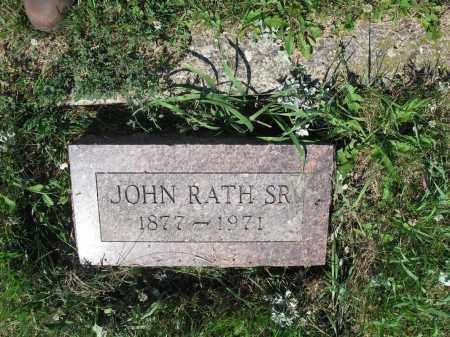 RATH 316, JOHN SR. - LaMoure County, North Dakota   JOHN SR. RATH 316 - North Dakota Gravestone Photos