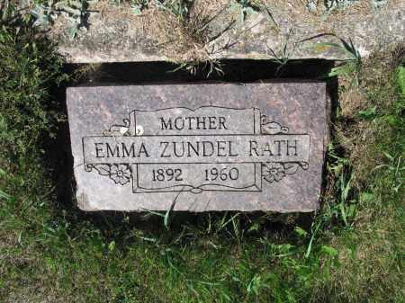 RATH 317, EMMA - LaMoure County, North Dakota | EMMA RATH 317 - North Dakota Gravestone Photos