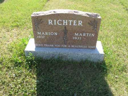RICHTER 198, MARION - LaMoure County, North Dakota   MARION RICHTER 198 - North Dakota Gravestone Photos