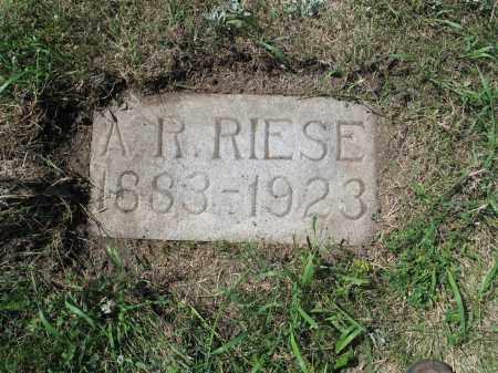 RIESE 604, A.R. - LaMoure County, North Dakota | A.R. RIESE 604 - North Dakota Gravestone Photos