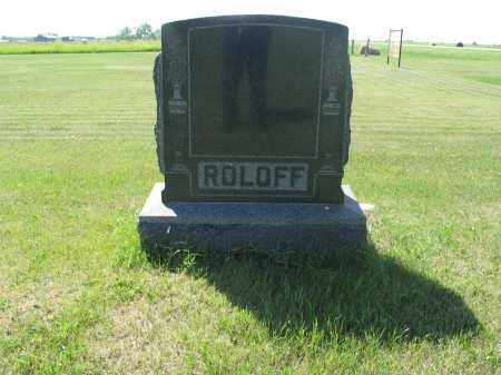 ROLOFF 018, FAMILY (DANIEL) MARKER - LaMoure County, North Dakota | FAMILY (DANIEL) MARKER ROLOFF 018 - North Dakota Gravestone Photos