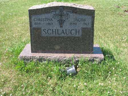 SCHLAUCH 537, JACOB - LaMoure County, North Dakota | JACOB SCHLAUCH 537 - North Dakota Gravestone Photos