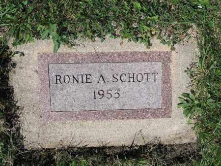 SCHOTT 437, RONIE A. - LaMoure County, North Dakota | RONIE A. SCHOTT 437 - North Dakota Gravestone Photos