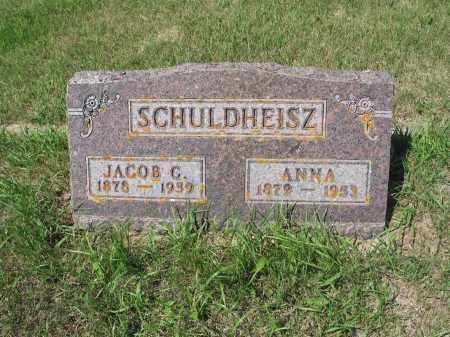 SCHULDHEISZ 414, ANNA - LaMoure County, North Dakota | ANNA SCHULDHEISZ 414 - North Dakota Gravestone Photos