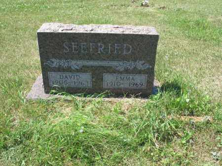 BADER SEEFRIED 559, EMMA - LaMoure County, North Dakota | EMMA BADER SEEFRIED 559 - North Dakota Gravestone Photos