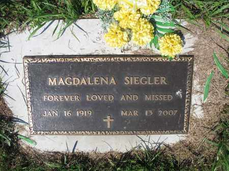 SIEGLER 415, MAGDALENA - LaMoure County, North Dakota | MAGDALENA SIEGLER 415 - North Dakota Gravestone Photos