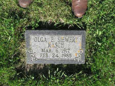 SIEWERT 001, OLGA E. - LaMoure County, North Dakota | OLGA E. SIEWERT 001 - North Dakota Gravestone Photos