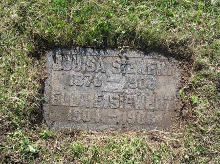 SIEWERT 177, ELLA E. - LaMoure County, North Dakota | ELLA E. SIEWERT 177 - North Dakota Gravestone Photos