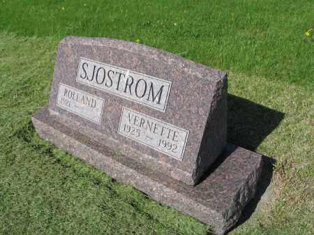 SJOSTROM 036, VERNETTE M. - LaMoure County, North Dakota | VERNETTE M. SJOSTROM 036 - North Dakota Gravestone Photos