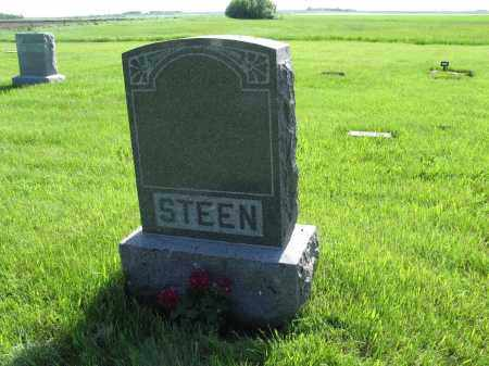STEEN 019, FAMILY (LUDVIG) MARKER - LaMoure County, North Dakota | FAMILY (LUDVIG) MARKER STEEN 019 - North Dakota Gravestone Photos