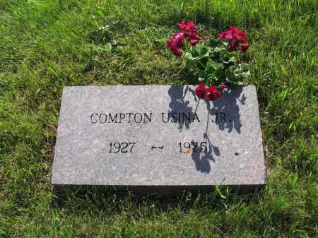 USINA 018, COMPTON H. JR. - LaMoure County, North Dakota | COMPTON H. JR. USINA 018 - North Dakota Gravestone Photos