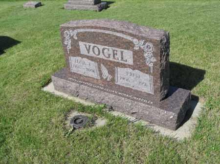 VOGEL 018, EDNA T. - LaMoure County, North Dakota | EDNA T. VOGEL 018 - North Dakota Gravestone Photos