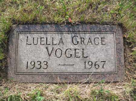 VOGEL 069, LUELLA GRACE - LaMoure County, North Dakota | LUELLA GRACE VOGEL 069 - North Dakota Gravestone Photos