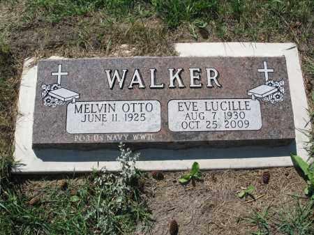 WALKER 115, EVE LUCILLE - LaMoure County, North Dakota   EVE LUCILLE WALKER 115 - North Dakota Gravestone Photos