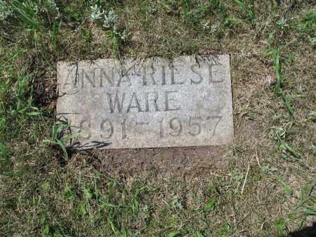 WARE 603, ANNA - LaMoure County, North Dakota   ANNA WARE 603 - North Dakota Gravestone Photos