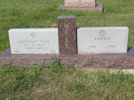 WELK 237, CHRISTIAN - LaMoure County, North Dakota   CHRISTIAN WELK 237 - North Dakota Gravestone Photos