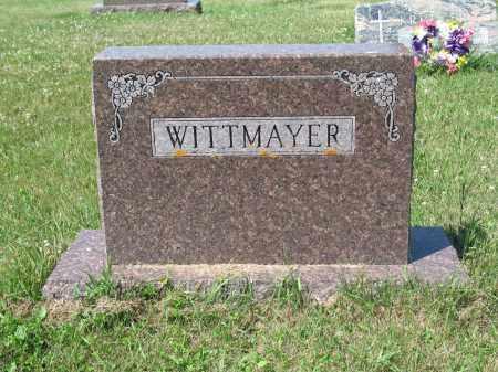 WITTMAYER 422, FAMILY (HARRY) MARKER - LaMoure County, North Dakota   FAMILY (HARRY) MARKER WITTMAYER 422 - North Dakota Gravestone Photos
