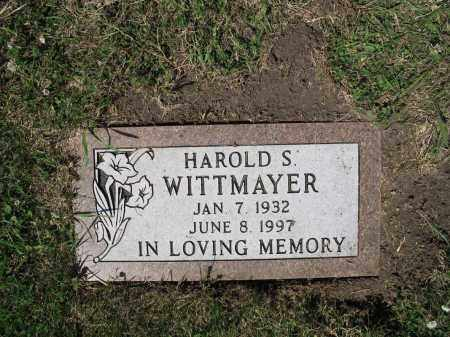 WITTMAYER 425, HAROLD S. - LaMoure County, North Dakota | HAROLD S. WITTMAYER 425 - North Dakota Gravestone Photos