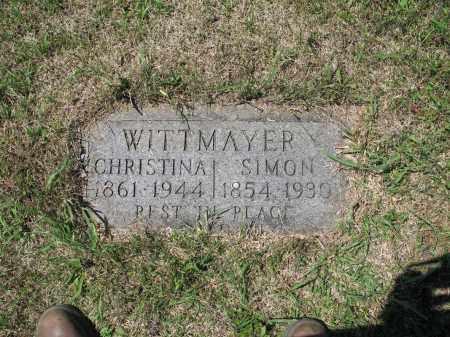 WITTMAYER 579, SIMON - LaMoure County, North Dakota | SIMON WITTMAYER 579 - North Dakota Gravestone Photos