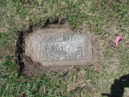 WITTMEYER 583, MARTHA - LaMoure County, North Dakota   MARTHA WITTMEYER 583 - North Dakota Gravestone Photos