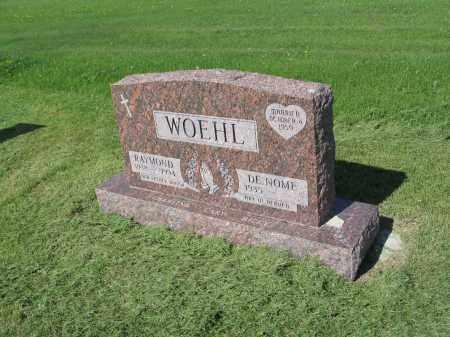 WOEHL 024, DE NOME - LaMoure County, North Dakota | DE NOME WOEHL 024 - North Dakota Gravestone Photos