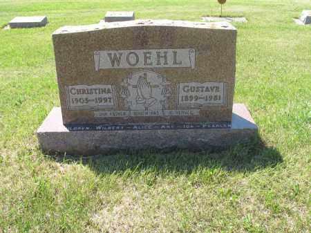 WOEHL 039, CHRISTINA - LaMoure County, North Dakota | CHRISTINA WOEHL 039 - North Dakota Gravestone Photos