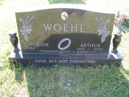 WOEHL 194, ARTHUR - LaMoure County, North Dakota | ARTHUR WOEHL 194 - North Dakota Gravestone Photos