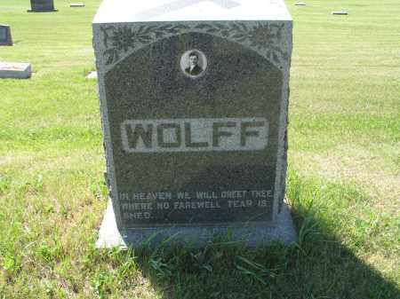 WOLFF 036, FAMILY (OTTO) MARKER - LaMoure County, North Dakota | FAMILY (OTTO) MARKER WOLFF 036 - North Dakota Gravestone Photos