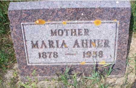 AHNER, MARIA - Logan County, North Dakota | MARIA AHNER - North Dakota Gravestone Photos