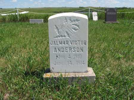 ANDERSON, JALMAR VICTOR - Logan County, North Dakota | JALMAR VICTOR ANDERSON - North Dakota Gravestone Photos