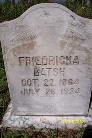 HEKKA BETSCH, FRIEDRICKA - Logan County, North Dakota | FRIEDRICKA HEKKA BETSCH - North Dakota Gravestone Photos